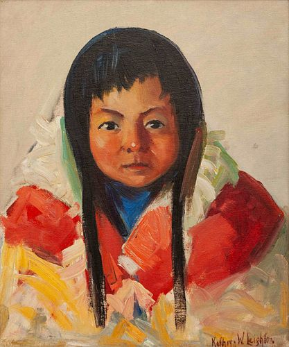 Kathryn Woodman Leighton (American, 1875-1952) Young American