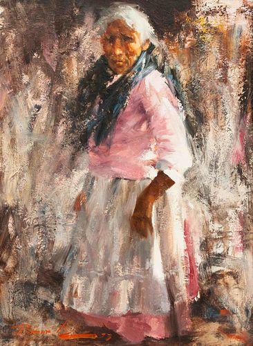Ramon Kelley  (American, b. 1939) Woman From Tepzlon