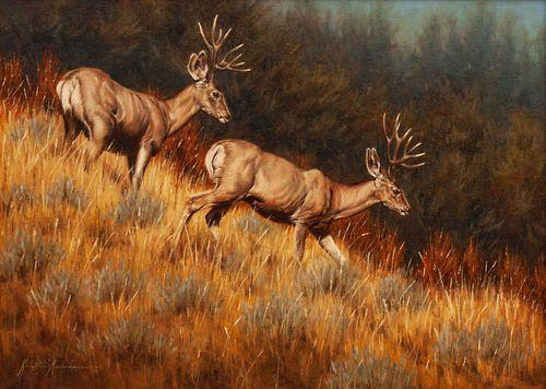 Krystii Melanie (Australian/American, b. 1963) Mule Deer, 2005