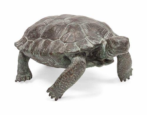 Mark Rossi (American, b. 1951) Tortoise, edition 17/25
