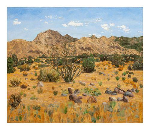 Harry Pattison (American, b. 1952) Sandia Mountains