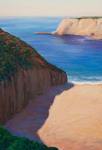 William Berra (American, b. 1952) Sandy Beach, 1992