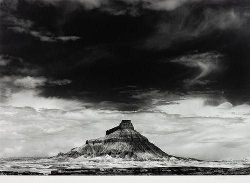 William Clift (American, b. 1944) Factory Butte, Utah,1975