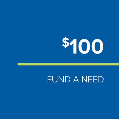 FUND-A-NEED: $100