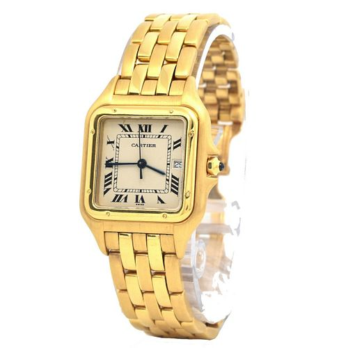 Lady's Cartier Panthere 18K Watch