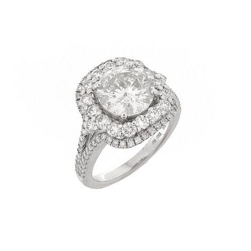 Diamond and 18K Ring