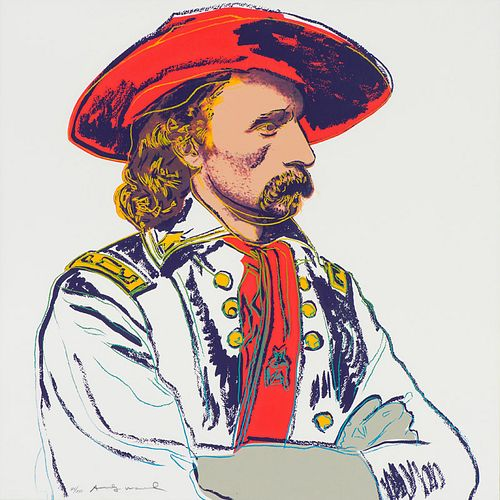Andy Warhol General Custer, from Cowboys and Indians (F.&S. II.379), 1986