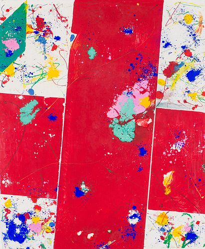 Sam Francis Untitled (EXP-SF-43-3-1981), 1981