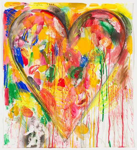 Jim Dine Main Street #5, 2008