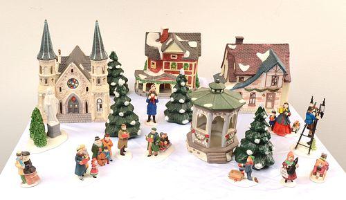 DEPARTMENT 56, Christmas Village Set