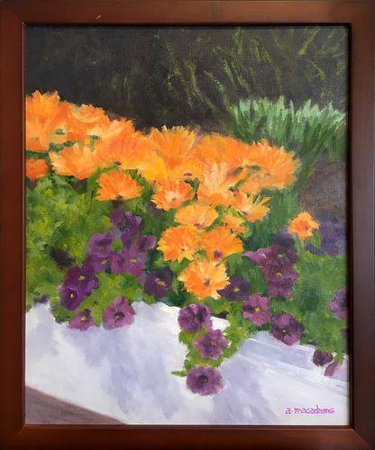 ANNETTE MACADAMS, Orange Flowers