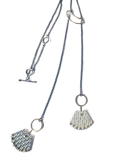 Lariat Style Woven Studded Fans