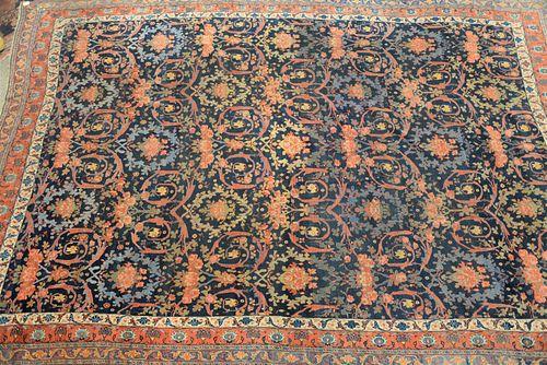 "Bidjar Oriental Carpet, (evenly worn). 13' x 19' 5""."