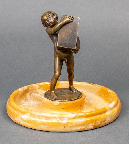 Istvan Szentgyorgyi Bronze Match Box Holder