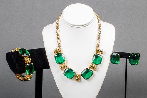 Valentino Designer Costume Jewelry Suite