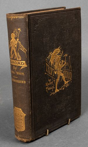 """A Tramp Abroad"" Mark Twain First Edition"