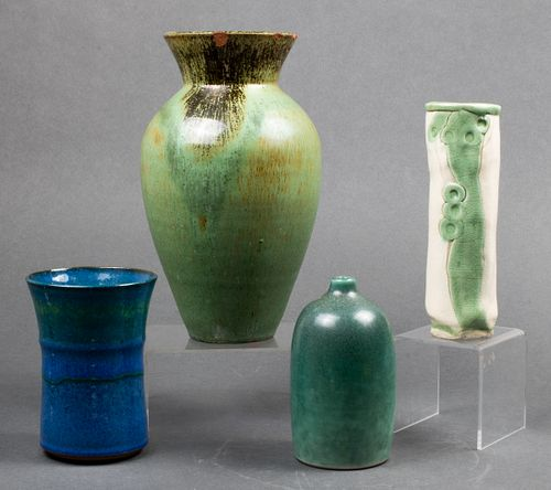 Collection of American Studio Ceramic Vases, 4