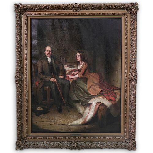 George Dunlap Leslie (British, 1835-1921) Oil Painting