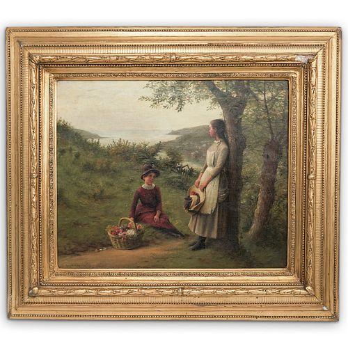 Haynes King (British 1831-1904) Oil Painting