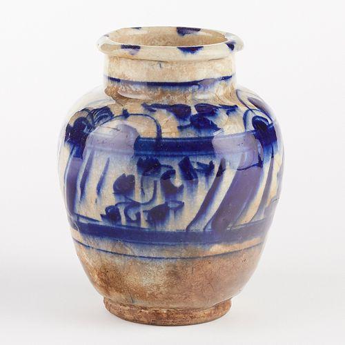 16th/17th c. Iran Persian Mamluk Drug or Spice Jar Vase