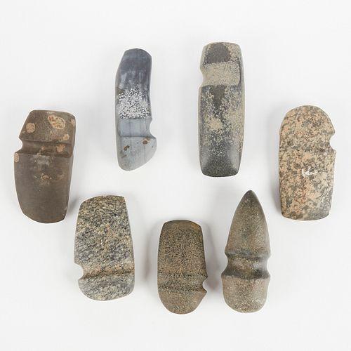 Grp: 7 Stone Axeheads