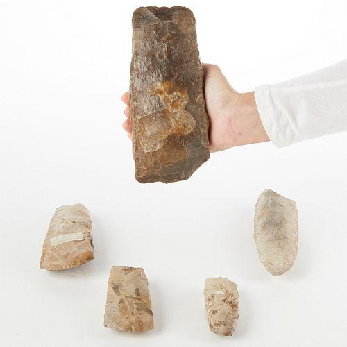Grp: 5 Danish Stone Tools Celts
