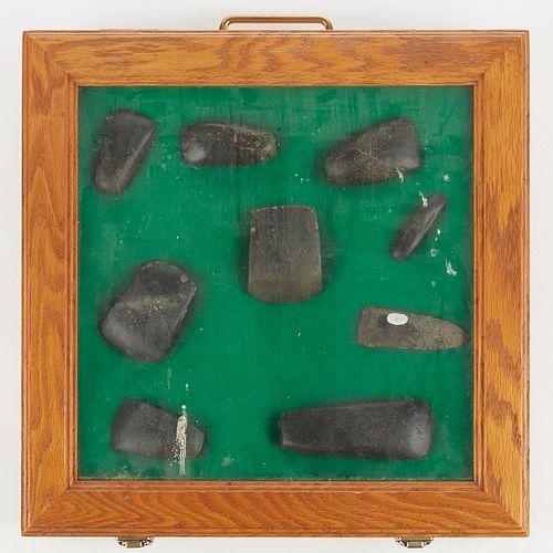 Grp: 9 North American Stone Celts