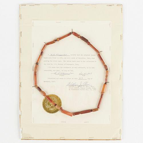 North American Jasper Bead Necklace
