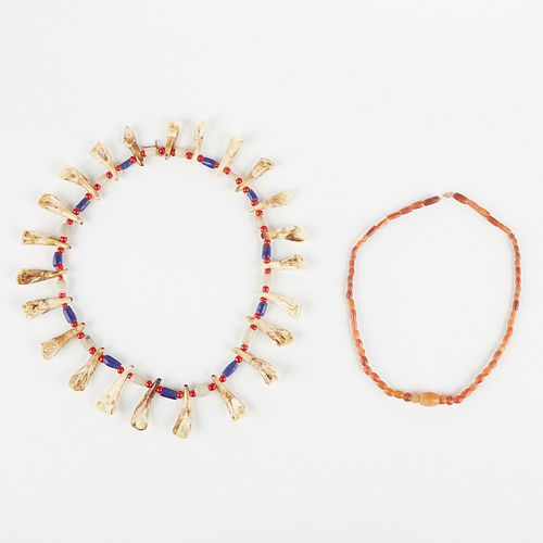 Grp: 2 Native American Style Necklaces