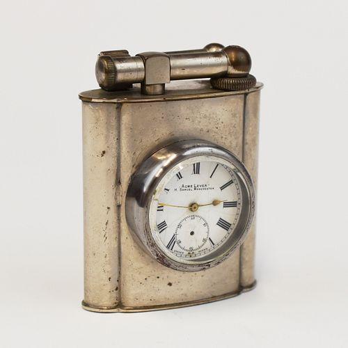 Polaire Ligher w/ H. Samuel Acme Lever Clock