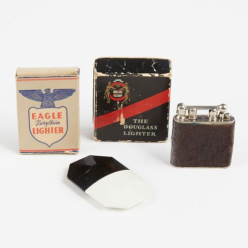 Grp: Hargraft Lighters Eagle Verythin The Douglass