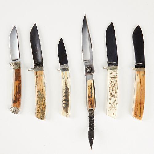 Grp: 6 R. B. Johnson Knives