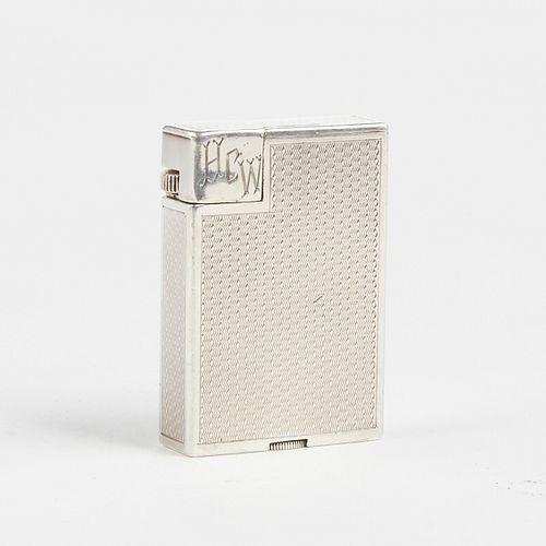 Dunhill Broadboy Silver Plated Lighter