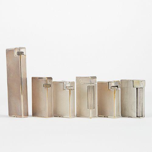 Grp: 6 Dunhill Broadboy MK1 MK2 Lighters