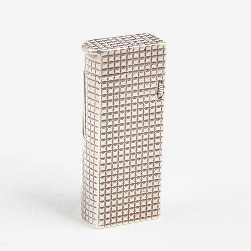 Dunhill Solid Sterling Silver Broadboy Lighter