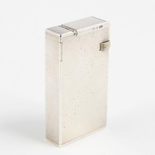 Solid Sterling Silver Dunhill Broadboy Lighter