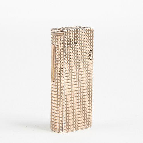 Dunhill Vermeil Broadboy Lighter Dated