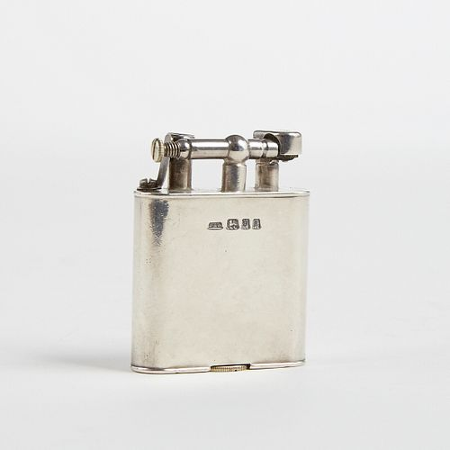 Dunhill Solid Sterling Silver Swing Arm Lighter