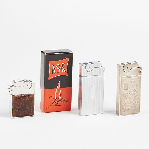 Grp: 3 A.S.R Lighters One Sterling Silver - One Mini Ascot