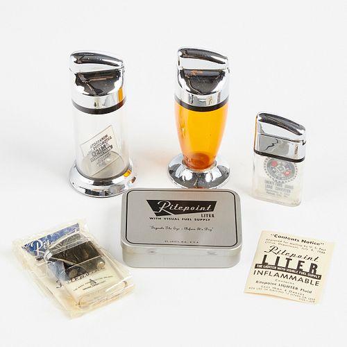 Grp: 4 Ritepoint Lighters