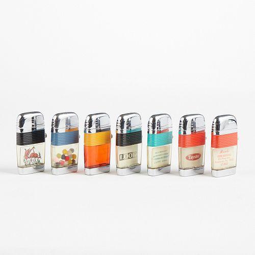 Grp: Scripto Vu-lighters With Original Packaging