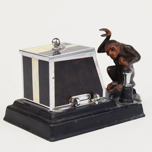 Ronson Monkey Pik-A-Cig Cigaretter Dispenser