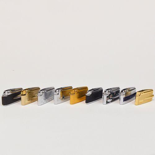Grp: 8 Ronson Varaflame Adonis Lighters