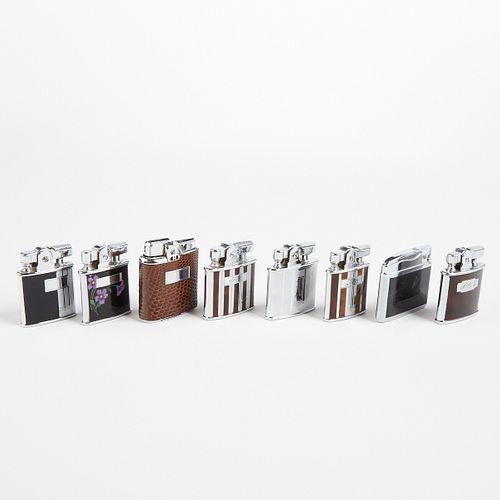 "Grp: 8 Ronson ""Gem"" Lighters In Original Boxes"