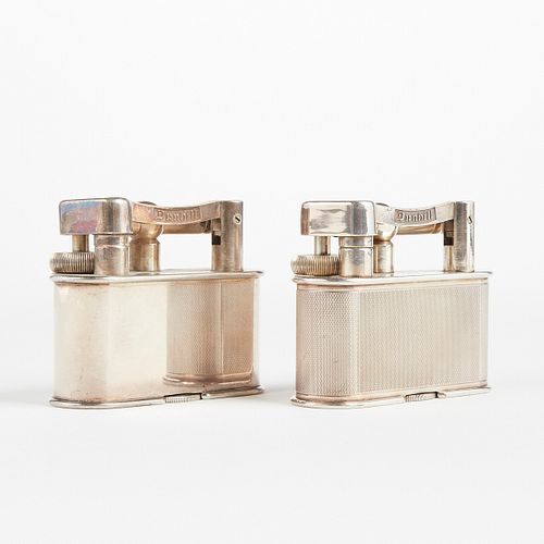 Grp: 2 Dunhill Lift Arm Table Lighters