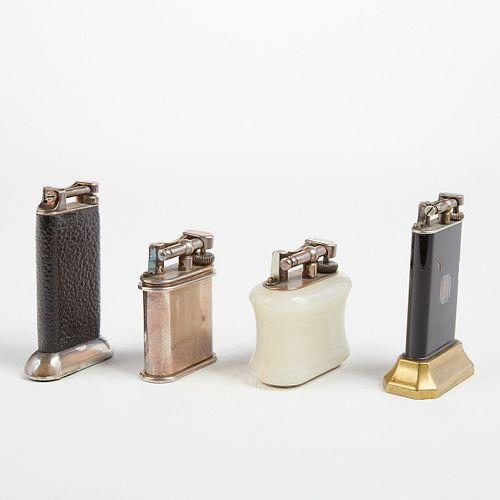 Grp: 4 Dunhill Lift Arm Unique Table Lighters