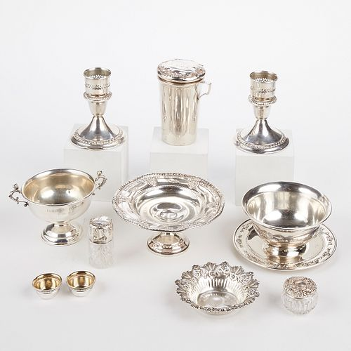 Grp: 11 Pieces of Sterling Silver