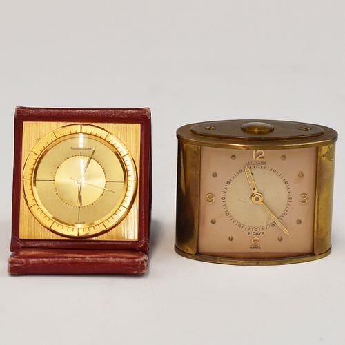 Grp: Jaeger Le Coultre Travel Clocks
