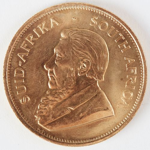 South African 1984 Krugerrand Gold Coin