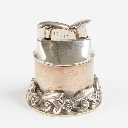 Georg Jensen La Paglia Sterling Table Lighter